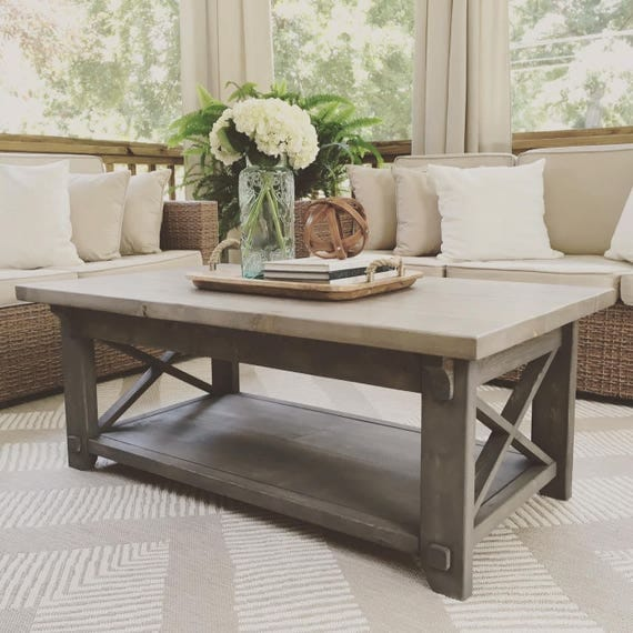 X Style Country Coffee Table X Coffee Table Country Coffee