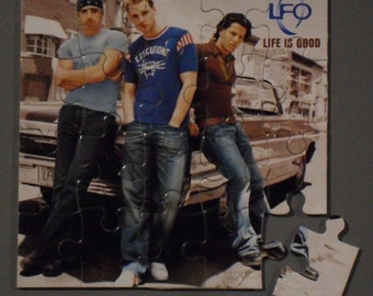 LFO CD Cover Magnetic Puzzle