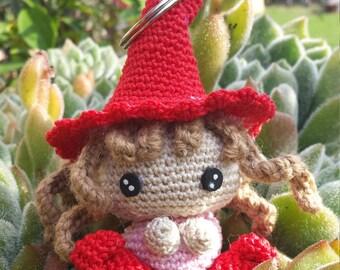 Kobold Keychain amigurumi, crochet.