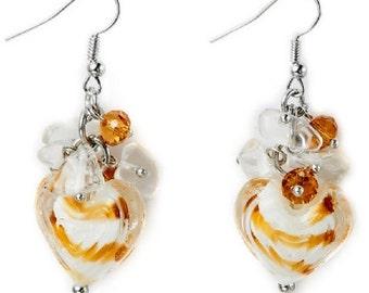 Murano Glass Beaded Earrings EA6041j