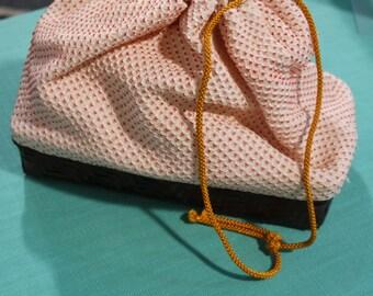 Shibori silk bag