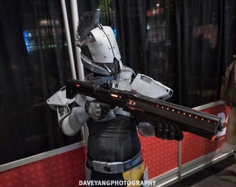 Destiny Invective Shotgun Replica - Fully finished with lights