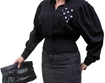 80s Vixen Grey Stonewash Stretch Denim High-Waisted Pencil Skirt S 10