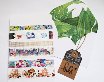 Assorted Washi Tape Grab Bag, Story Washi Sampler, Planner Goodies, Scrapbook Supplies, Happy Planner, Kawaii Washi Tape