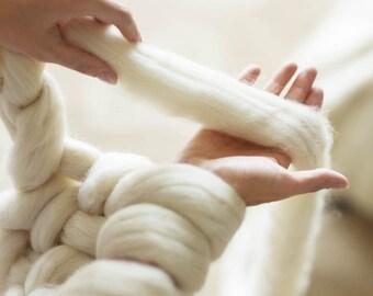 Chunky wool Merino wool yarn Merino wool 23 Microns merino wool Super chunky wool Super bulky wool