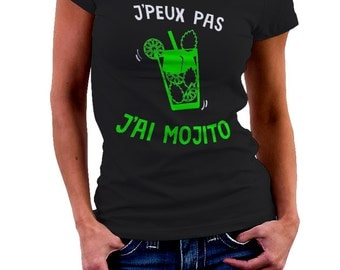 I can't I MOJITO - Green T-shirt for the aperitif Tshirt • 002