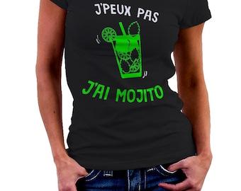I can't I MOJITO - Green T-shirt for the aperitif Tshirt • 002