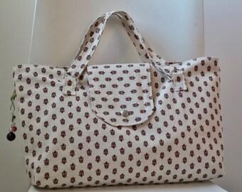"""Handbag fabric pattern """"Provençal"""" Ref. S10"""