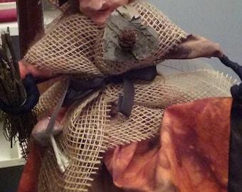 handmade halloween Witch (fall)