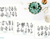 Flowers and Plants Stickers (small)