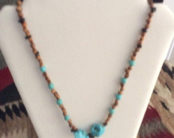Markacite, Turquoise Necklace
