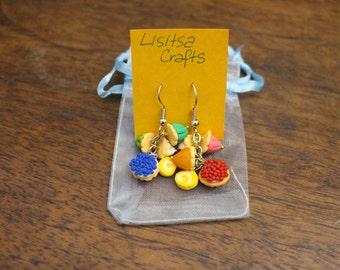 Sweet Earrings-Polymer Clay