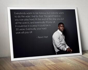 Kevin Hart Motivational Poster