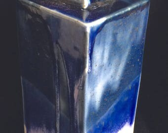 Tall Blue Bottle