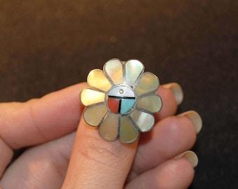 Sterling Silver Zuni Ring