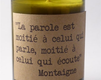 CANDLE SOY Montaigne