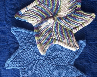 Starfish Dish Cloth- Set of 2
