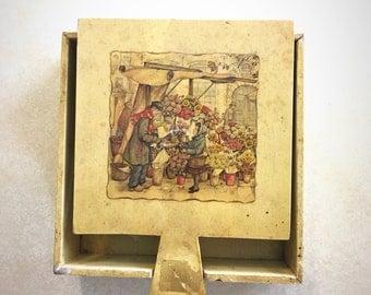 CLEARANCE: Vintage 1920s Napkin Holder