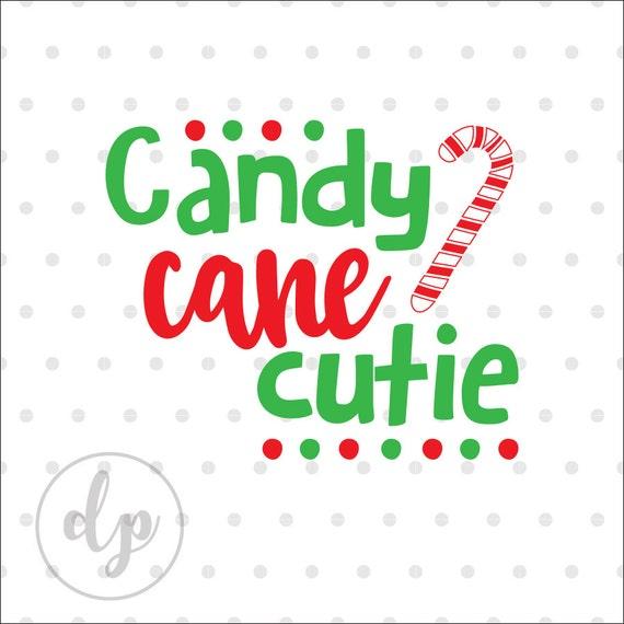 Download Candy Cane Cutie Christmas svg dxf silhouette cricut cut ...