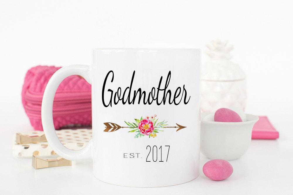 Gift For Godmother Godmother Gift Mothers Day Gift: Godmother Gift Baptism Gift Christening Gift Godmother Mug