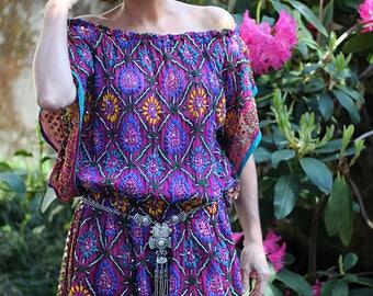 Exotic dress Fuchsia