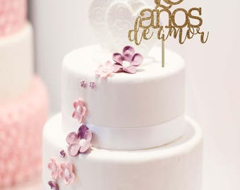 spanish style wedding cake toppers wedding sign etsy 20301