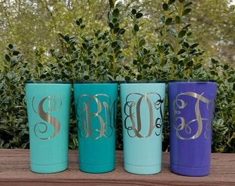 Gift - Mothers Day Gift - Fathers Day Gift  -Personalized Tumbler, Yeti, Ozark Trail, RTIC - Custom Powder Coat Tumbler