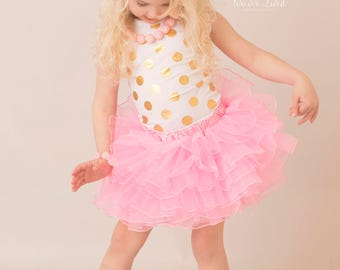 SALE Girls Pink or Black Tutu Skirt, Pink Tutu, Black tutu, Pink, Tutu, Pick Color