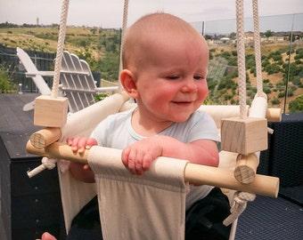 Handmade Baby/Toddler Swing, hanging swing