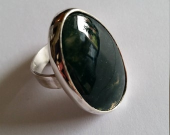 Sterling Silver ring with Agate