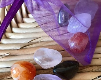 Mood Lifting Reiki Charged Crystal Set