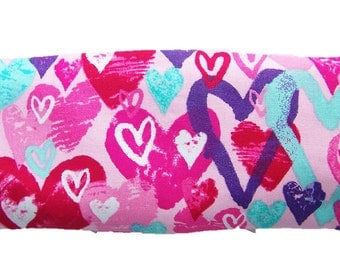 Microwave heat pack, Heat pack, Eye pillow, Heat therapy, Lavender pillow,Microwave pack,Relief Pack, Valentine Heart Heatable Eye Pack