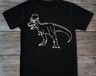 Dino shirt, dino with hat, dino tattoo, hat, tattoo shirt, classic tattoo art, old school shirt, hipster gift, gift for tattoo lovers