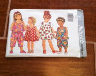 Vintage Childrens Clothing Pattern
