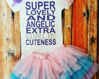 Baby Girl Clothes, Mary Poppins Shirt, Super Lovely And Angelic Extra Girlie Cuteness Bodysuit