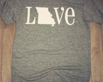 LOVE STATE. T-Shirt