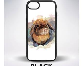 Bunny iPhone 6 Case Rabbit iPhone 5 Case Cute Samsung Galaxy Case Bunny 7 Case Rabbit 7 Plus Case Animal 6 Plus Case SE Plus Case 5C Cover 4