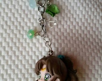 Sailor Jupiter Makoto/Lita keychain