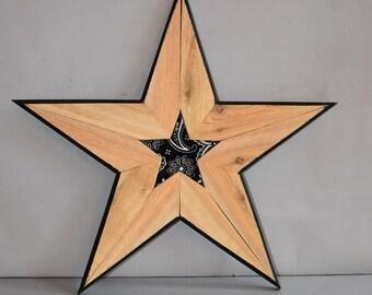 Wooden Star 5123