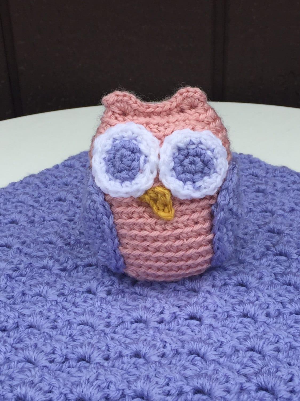 Free Crochet Owl Security Blanket Pattern ~ Dancox for .