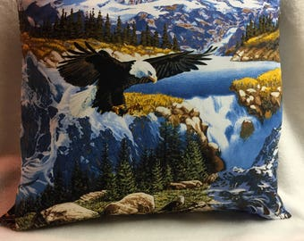 Soaring Eagle, Pillow 16 x 16 (#015)