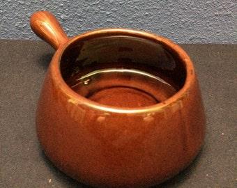 Vintage McCoy Handled Soup Bowl