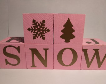 All Seasons Word Blocks - 1.5 inch blocks