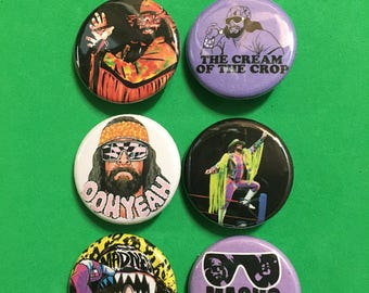 Macho Man Randy Savage Pin Pack: Cream of the Crop, Macho Madness, Macho King