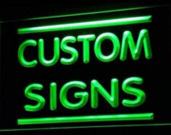custom neon signs led sign mancave sign illuminate sign light up letters light box sign channel letter neon letter plug in night light