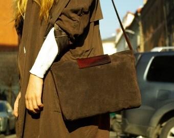 CHERRY CHOCOLATE elegant shoulder bag