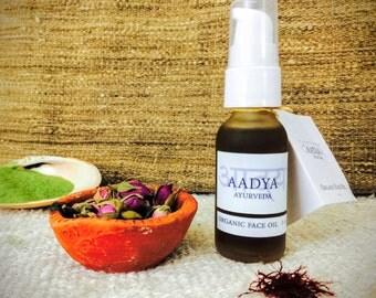Organic Ayurvedic Face Serum 1 oz. Herbal Face Serum. Magical Stuff. Aadya Ayurveda