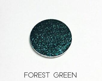 Pressed Glitter Eyeshadow - 'Forest Green'