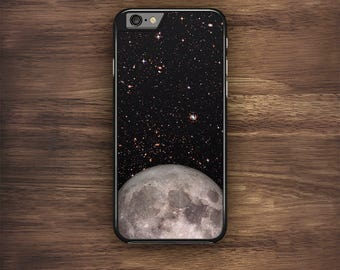 Moon iPhone Case, Stars iPhone 6 Case, Galaxy iPhone 7 Case,  iPhone 5C Case, iPhone 5 Case, iPhone 4 Case, iPhone 6S Case, iPhone 5S Case