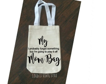 My mom bag. Cotton Tote Bags. Mom Bag. Gifts for moms. Gifts for mothers. Bags for moms.